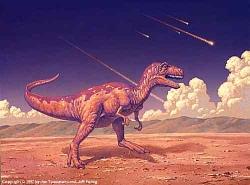 La extincion de los dinosarurios