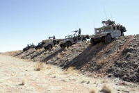 Generation Kill humvees ride