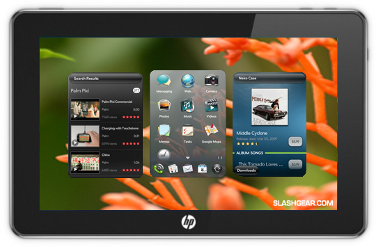HP webOS TabletPC