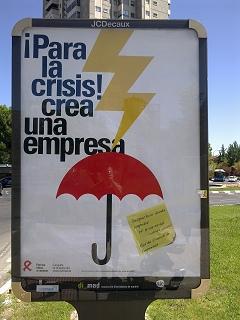 ¡Para la crisis! crea una empresa