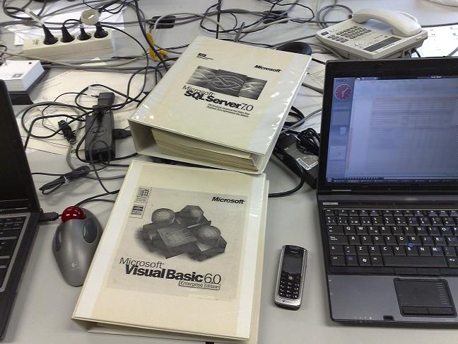 Manuales VisualBASIC 6 y SQL Server 7