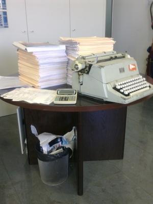 Mesa de Trabajo en iContainers