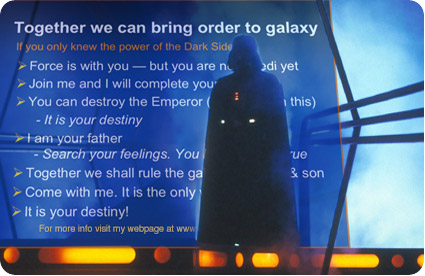 Darth Vader PowerPoint Presentation Slide