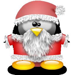 Tux Merry Christmas Feliz Navidad Pingüino Linux