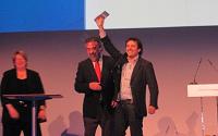 Xabier Uribe-Etxebarria, Juan Alberto Belloch y Chris Shippley en Innovate! 2010
