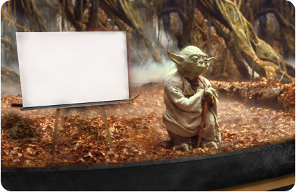 Yoda PowerPoint Presentation Slide