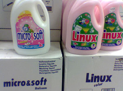 Linux, Micro & Soft Detergents